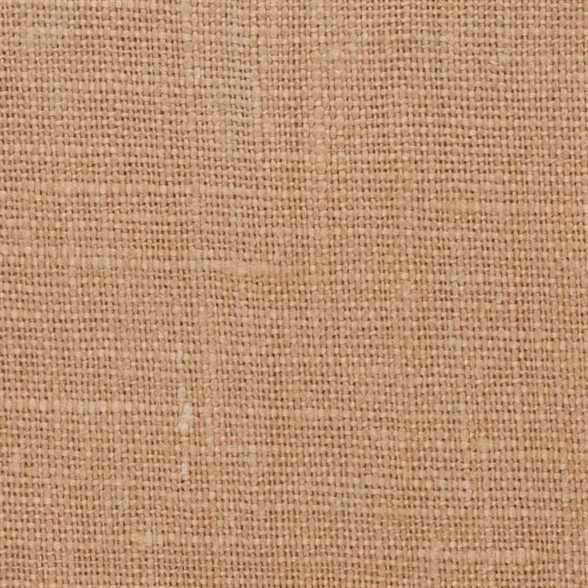 Belgian PW Dark Camel Tan 8 - 100% Linen 7.5 Oz (Medium Weight | 56 Inch Wide | Pre Washed-Extra Soft) Solid