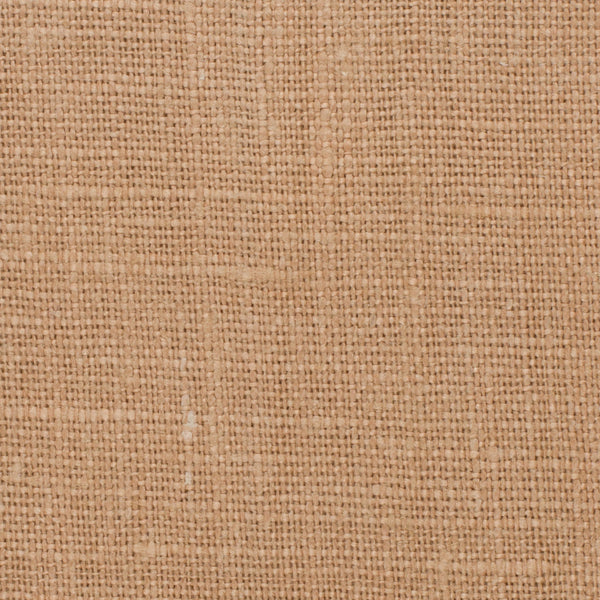 SAMPLE - Belgian Dark Camel Tan 8 - 100% Linen 7.5 Oz (Medium Weight | 56 Inch Wide | Extra Soft) Solid | By Linen Fabric Store Online