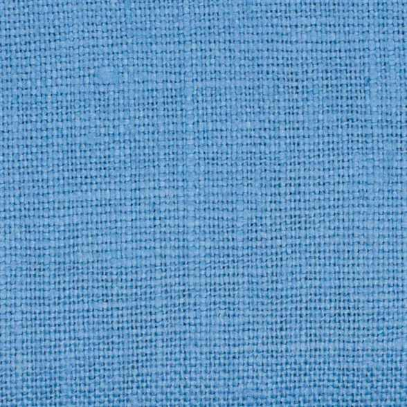Belgian PW Denim Blue 6 - 100% Linen 7.5 Oz (Medium Weight | 56 Inch Wide | Pre Washed-Extra Soft) Solid