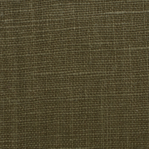 SAMPLE - Belgian Green 14 - 100% Linen 7.5 Oz (Medium Weight | 56 Inch Wide | Extra Soft) Solid | By Linen Fabric Store Online