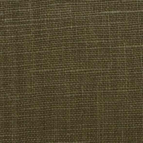 Belgian PW Green 14 - 100% Linen 7.5 Oz (Medium Weight | 56 Inch Wide | Pre Washed-Extra Soft) Solid