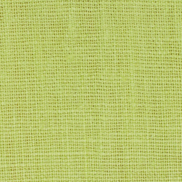 SAMPLE - Belgian Lime Green 4 - 100% Linen 7.5 Oz (Medium Weight | 56 Inch Wide | Extra Soft) Solid | By Linen Fabric Store Online