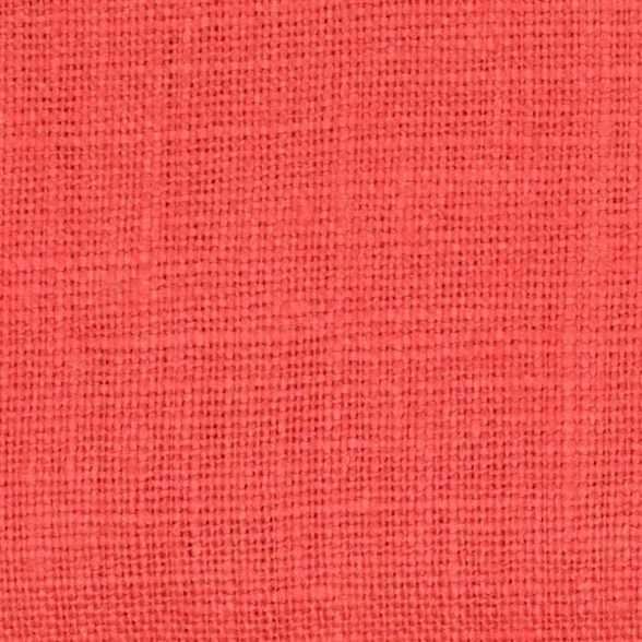 Belgian PW Orange 1 -100% Linen 7.5 Oz (Medium Weight | 56 Inch Wide | Pre Washed-Extra Soft) Solid