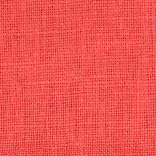 Promotional End Cut-Belgian Orange 1  - 100% Linen 7.5 Oz (Medium Weight | 56 Inch Wide | Extra Soft) Solid