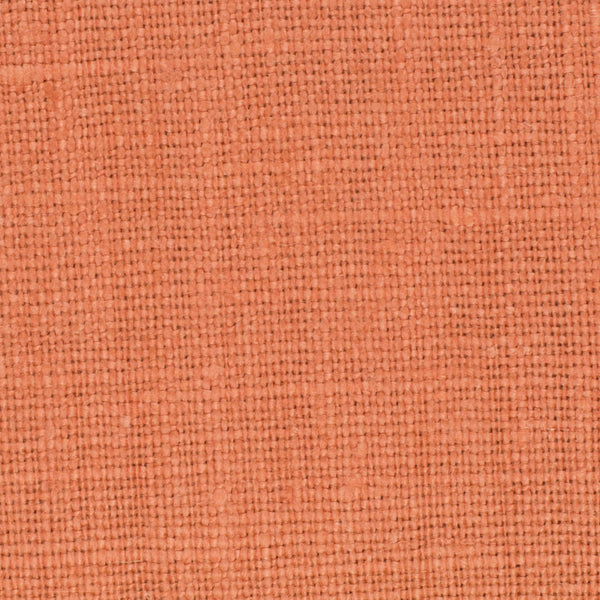 SAMPLE - Belgian Orange 2 - 100% Linen 7.5 Oz (Medium Weight | 56 Inch Wide | Extra Soft) Solid | By Linen Fabric Store Online