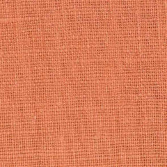 Belgian PW Orange 2 -100% Linen 7.5 Oz (Medium Weight | 56 Inch Wide | Pre Washed-Extra Soft) Solid