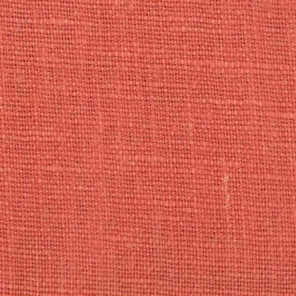 Belgian PW Orange 3 - 100% Linen 7.5 Oz (Medium Weight | 56 Inch Wide | Pre Washed-Extra Soft) Solid