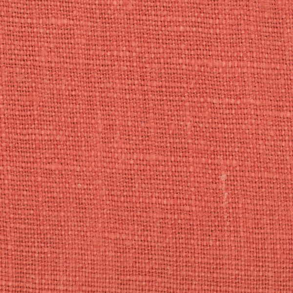 SAMPLE - Belgian Orange 3 - 100% Linen 7.5 Oz (Medium Weight | 56 Inch Wide | Extra Soft) Solid | By Linen Fabric Store Online