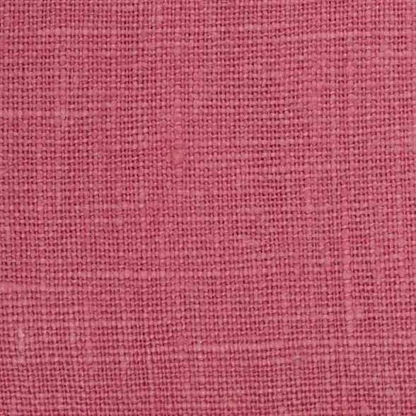 Belgian PW Pink 6 - 100% Linen 7.5 Oz (Medium Weight | 56 Inch Wide | Pre Washed-Extra Soft) Solid