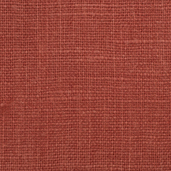 SAMPLE - Belgian Red 1 - 100% Linen 7.5 Oz (Medium Weight | 56 Inch Wide | Extra Soft) Solid | By Linen Fabric Store Online