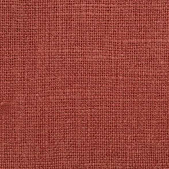 Belgian Red 1 -PW 100% Linen 7.5 Oz (Medium Weight | 56 Inch Wide | Pre Washed-Extra Soft) Solid