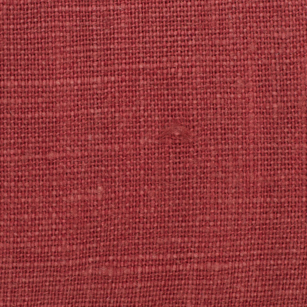 SAMPLE - Belgian Red 2 - 100% Linen 7.5 Oz (Medium Weight | 56 Inch Wide | Extra Soft) Solid | By Linen Fabric Store Online