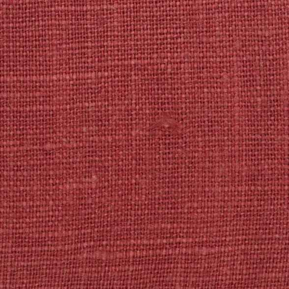 Belgian Red 2 - 100% Linen 7.5 Oz (Medium Weight | 56 Inch Wide | Extra Soft) Solid