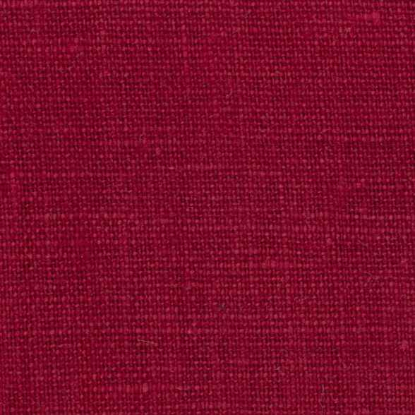 Belgian Red 3 - 100% Linen 7.5 Oz (Medium Weight | 56 Inch Wide | Extra Soft) Solid