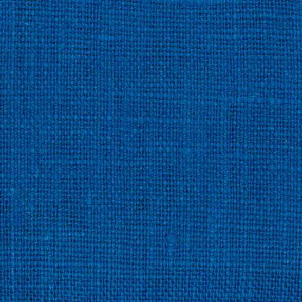 Belgian Royal Blue 7 -PW 100% Linen 7.5 Oz (Medium Weight | 56 Inch Wide | Pre Washed-Extra Soft) Solid