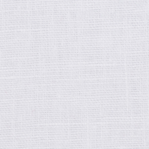 Belgian PW White 1 -100% Linen 7.5 Oz (Medium Weight | 56 Inch Wide | Pre Washed-Extra Soft) Solid