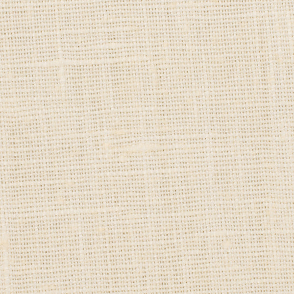 Belgian Yellowish Cream 7 - 100% Linen 7.5 Oz (Medium Weight | 56 Inch Wide | Extra Soft) Solid