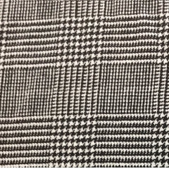 Black and White Plaid 100% Linen (Light/Medium Weight | 56 Inch Wide| ) Promotional Collection