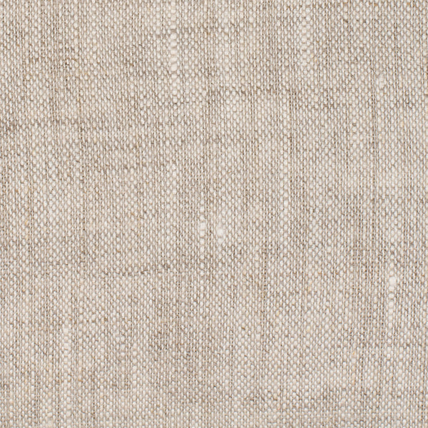 SAMPLE - Bogota Natural Brown Off White 1 - 100% Linen 3.5 Oz (Light/Medium Weight | 56 Inch Wide | Extra Soft) Burlap | By Linen Fabric Store Online