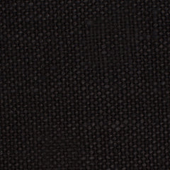 SAMPLE - Brazil Black 1 - 100% Linen 12 Oz (Heavy/Medium Weight | 56 Inch Wide | Medium Soft) Solid | By Linen Fabric Store Online