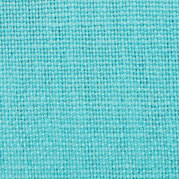 SAMPLE - Brazil Turquoise Blue 3 - 100% Linen 12 Oz (Heavy/Medium Weight | 56 Inch Wide | Medium Soft) Solid | By Linen Fabric Store Online