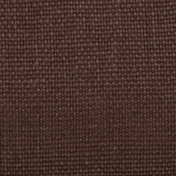 SAMPLE - Brazil Chocolate Brown 5 - 100% Linen 12 Oz (Heavy/Medium Weight | 56 Inch Wide | Medium Soft)  Solid | By Linen Fabric Store Online