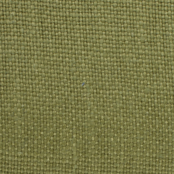 SAMPLE - Brazil Green 3 - 100% Linen 12 Oz (Heavy/Medium Weight | 56 Inch Wide | Medium Soft) Solid | By Linen Fabric Store Online