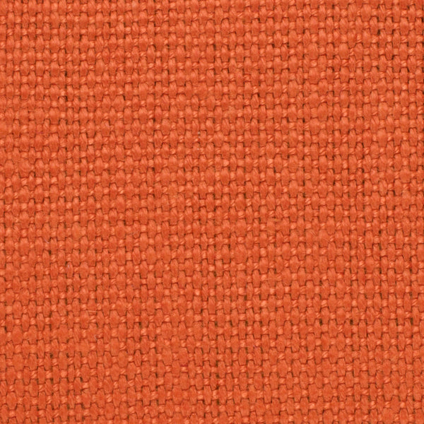 SAMPLE - Brazil Orange 1 - 100% Linen 12 Oz (Heavy/Medium Weight | 56 Inch Wide | Medium Soft) Solid | By Linen Fabric Store Online