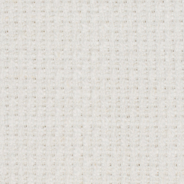 SAMPLE - British White 1 Linen Polyester 14.5 Oz (Heavy Weight | 54 Inch Wide | Medium Soft) Solid | By Linen Fabric Store Online