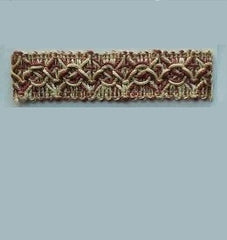 TRIMS - PARANAQUE MERLOT COLOR, (27 yards/roll, 7/8