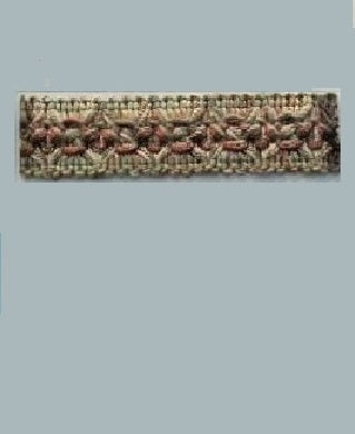TRIMS - PARANAQUE SEPIA COLOR  (27 yards/roll, 7/8