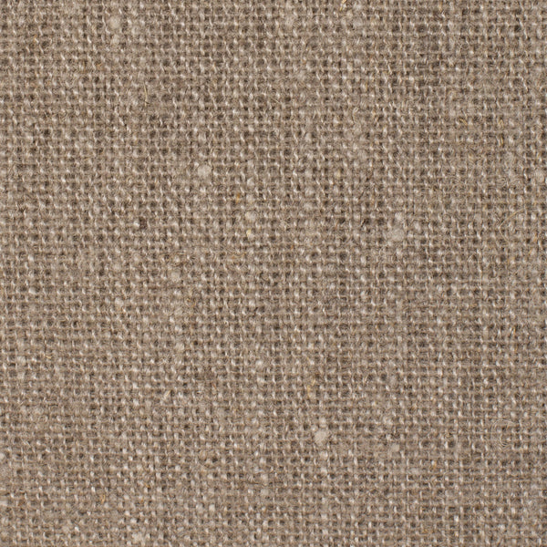 SAMPLE - California Natural Brown 1 - 100% Linen 10 Oz (Heavy/Medium Weight | 56 Inch Wide | Extra Soft) Burlap | By Linen Fabric Store Online