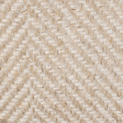 SAMPLE - Canada Natural Brown Off White 1 Linen Polyester 8 Oz (Medium Weight | 54 Inch Wide | Medium Soft) Burlap | By Linen Fabric Store Online