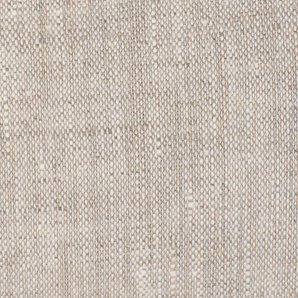 SAMPLE - Cayman Natural Brown Off White 1 - 100% Linen 5.5 Oz (Light/Medium Weight | 56 Inch Wide | Extra Soft) Burlap | By Linen Fabric Store Online
