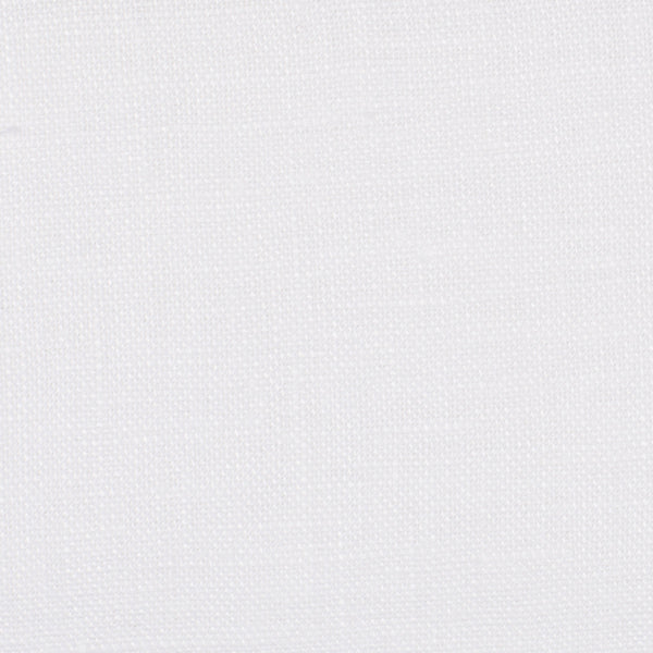 SAMPLE - Colombia White 1 - 100% Linen 4.5 Oz (Light/Medium Weight | 56 Inch Wide | Extra Soft) Novelty | By Linen Fabric Store Online