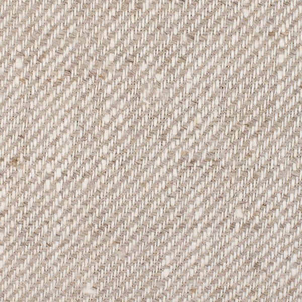 Como PW Natural Brown Off White 1 - 100% Linen 8.8 Oz (Medium Weight | 56 Inch Wide | Pre Washed Extra Soft) Burlap