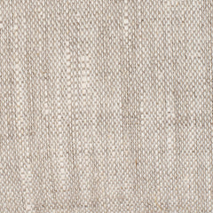 SAMPLE - Cyprus Natural Brown Off White 1 - 100% Linen 7.5 Oz (Medium Weight | 55 Inch Wide | Extra Soft) Burlap