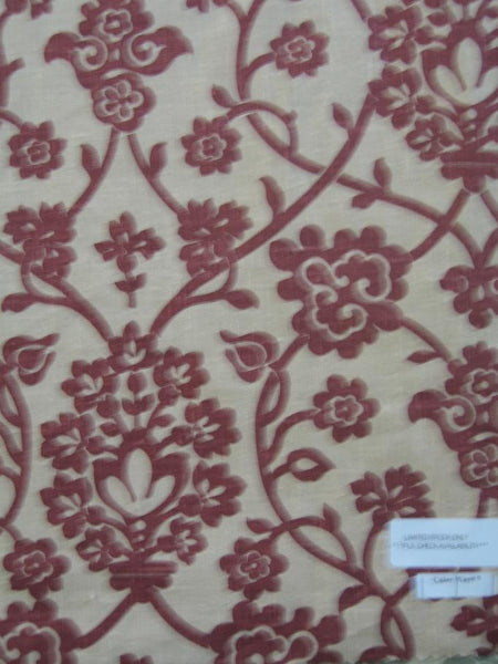 SAMPLE - Damask Red 2