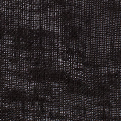 SAMPLE - Egyptian Black 1 - 100% Linen 2.5 Oz (Very Light Weight | 56 Inch Wide | Extra Soft) Sheer