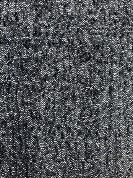 Gauze Black 1-95% Linen-5% Polyester 4.0 OZ. (Light Weight-53 Inch Wide | Extra Soft) Solid| By Linen Fabric Store Online