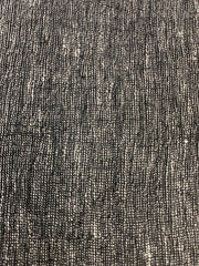 Gauze Black Pepper 1-95% Linen-5% Polyester 4.0 OZ. (Light Weight-53 Inch Wide | Extra Soft) Solid| By Linen Fabric Store Online