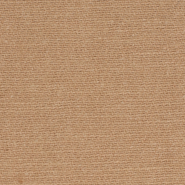 SAMPLE - German Tan 1 - 100% Linen 10.5 Oz (Heavy/Medium Weight | 56 Inch Wide | Medium Soft) Solid