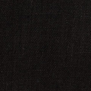 Irish Black 1 - 100% Linen 5.5 Oz (Light/Medium Weight | 56 Inch Wide | Extra Soft) Solid