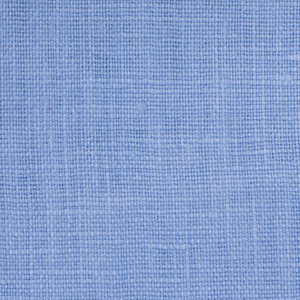 SAMPLE - Irish Blue 8 - 100% Linen 5.5 Oz (Light/Medium Weight | 56 Inch Wide | Pre Washed-Extra Soft) Solid