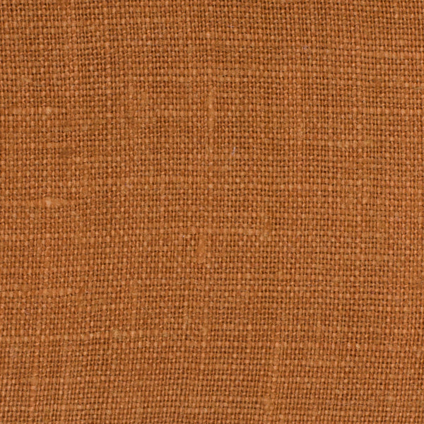 SAMPLE - Irish Brown 4 - 100% Linen 5.5 Oz (Light/Medium Weight | 56 Inch Wide | Extra Soft) Solid