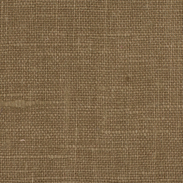SAMPLE - Irish Brown 6 - 100% Linen 5.5 Oz (Light/Medium Weight | 56 Inch Wide | Pre Washed-Extra Soft) Solid