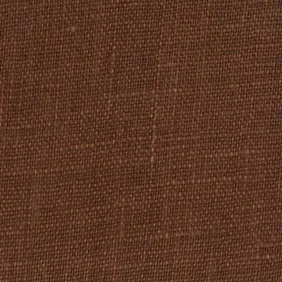 Irish Brown 7 - 100% Linen 5.5 Oz (Light/Medium Weight | 56 Inch Wide | Pre Washed-Extra Soft) Solid