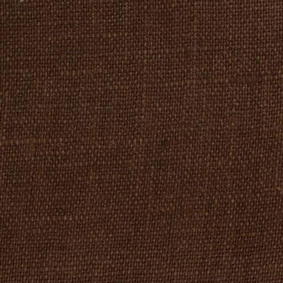 Irish Chocolate Brown 8 - 100% Linen 5.5 Oz (Light/Medium Weight | 56 Inch Wide | Extra Soft) Solid