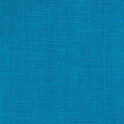 Irish Cyan Blue 7 - 100% Linen 5.5 Oz (Light/Medium Weight | 56 Inch Wide | Pre Washed-Extra Soft) Solid