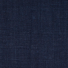 SAMPLE - Irish Dark Navy Blue 12 - 100% Linen 5.5 Oz (Light/Medium Weight | 56 Inch Wide | Pre Washed-Extra Soft) Solid